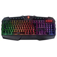 Teclado Gamer Evolut Ranger, LED Rainbow, ABNT - EG-201