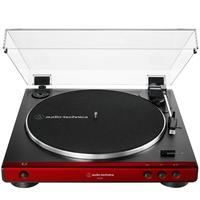 Toca Discos Audio Technica, Acionamento por Correia, Bivolt, Vermelho - AT-LP60X-RD
