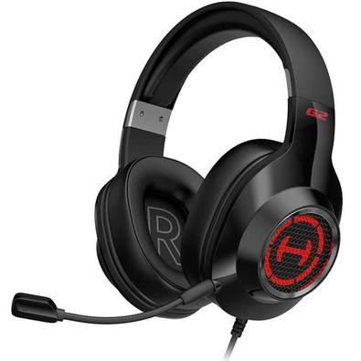 Headset Gamer Edifier G2 II, RGB, 7.1 Virtual Som Surround, Drivers 50mm - G2II-BK