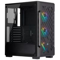 Gabinete Gamer Corsair iCUE 220T Airflow, Mid Tower, RGB, Lateral em Vidro - CC-9011173-WW