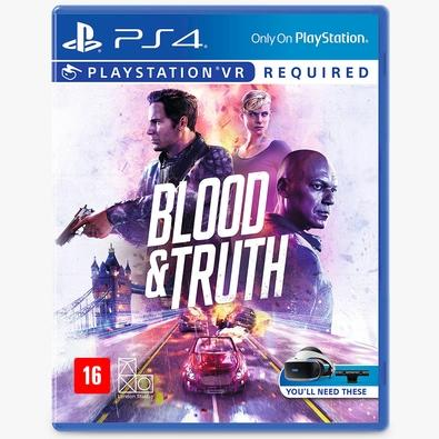 Game Blood e Truth PS4