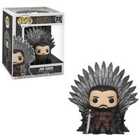 Funko POP! Jon Snow Sitting On Iron Throne, Game Of Thrones S10 Deluxe - 37791