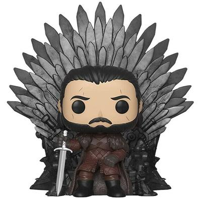 Funko POP! Jon Snow Sitting On Iron Throne, Game Of Thrones S10 Deluxe - 37791