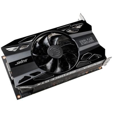 Placa de Vídeo EVGA NVIDIA GeForce GTX 1660 Super, 6GB, GDDR6 - 06G-P4-1061-KR