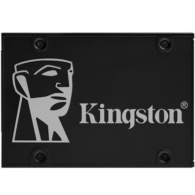 SSD Kingston KC600, 512GB, SATA, Leitura 550MB/s, Gravação 520MB/s - SKC600/512G