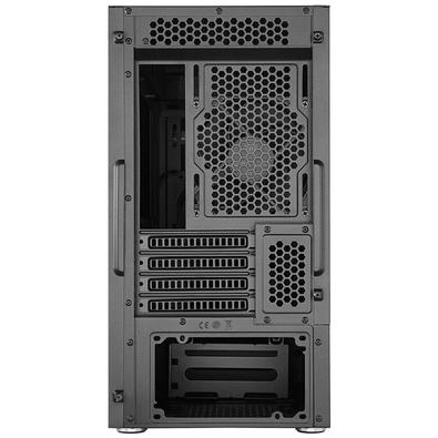 Gabinete Gamer Cooler Master Silencio S400, Mini Tower, com FAN, Lateral em Vidro - MCS-S400-KG5N-S00