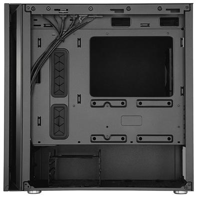 Gabinete Gamer Cooler Master Silencio S400, Mini Tower, com FAN, Lateral em Vidro - MCS-S400-KG5N-S00