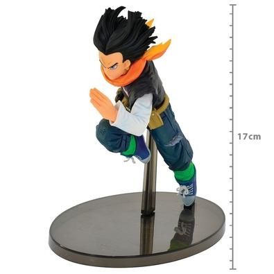 Action Figure Dragon Ball Z World Colosseum 2, Android 17 - 34583/34584
