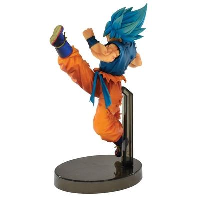 Action Figure Dragon Ball, Super Saiyan God Son Goku Z Battle - 34852/34853
