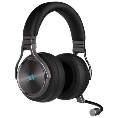 Headset Gamer Corsair Virtuoso SE Premium, Wireless, Gunmetal - CA-9011180-NA