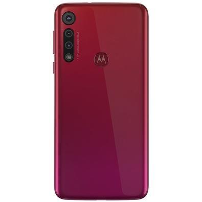 Smartphone Motorola Moto G8 Play, 32GB, 13MP, Tela 6.2´, Vermelho Magenta - XT2015-2