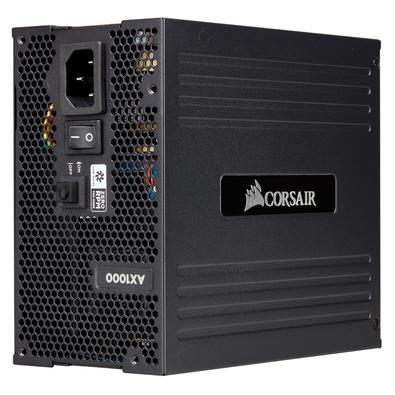 Fonte Corsair AX Series AX1000, 1000W, 80 Plus Titanium, Modular - CP-9020152