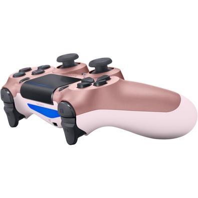 Controle Sony Dualshock 4 PS4, Sem Fio, Rosa Dourado - CUH-ZCT2U