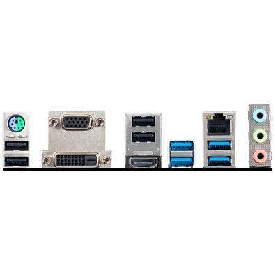 Placa-Mãe MSI B450M Pro-VDH Max p/ AMD AM4, m-ATX, DDR4