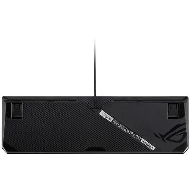 Teclado Mecânico Gamer Asus ROG Strix Scope, RGB, Switch Cherry MX Red, US - 90MP0180-B0UA00