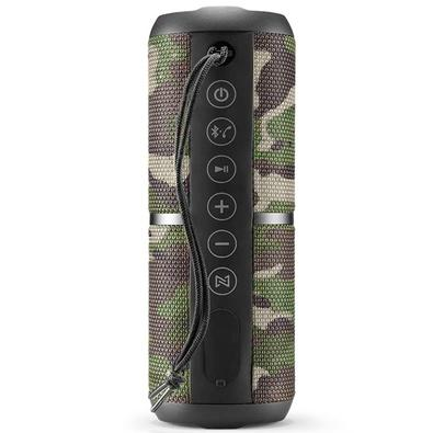 Caixa de Som Multilaser Wave 2, Bluetooth, 20W RMS, Camuflada - SP374