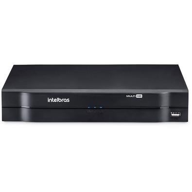 Gravador DVR Stand Alone Intelbras MHDX 1104, 4 Canais, 1TB - 4580348