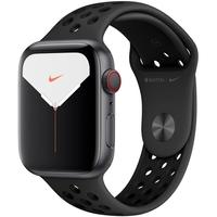 Apple Watch Nike Series 5, GPS, 40mm, Cinza Espacial, Pulseira Preta - MX3T2BZ/A