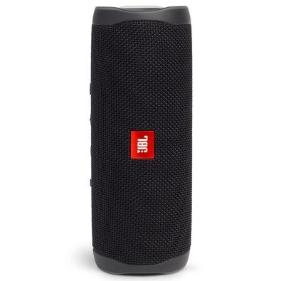 Caixa de Som JBL Flip 5, Bluetooth, 20W RMS, à Prova D´Água - JBLFLIP5BLK