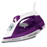Ferro de Passar a Vapor Black + Decker Steam Plus, 1200W, 220V, Roxo - FX2500-B2