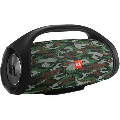 Caixa de Som Portátil JBL Boombox, Bluetooth, 2 x 30W RMS, À Prova D´Água, Camuflada - JBLBOOMBOXSQUADBR
