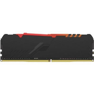 Memória HyperX Fury RGB, 16GB, 3600MHz, DDR4, CL17, Preto - HX436C17FB3A/16