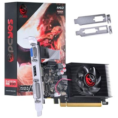 Placa de Vídeo PCYes AMD Radeon R5230, 2GB, DDR3 - PJ230R56402GD3LP