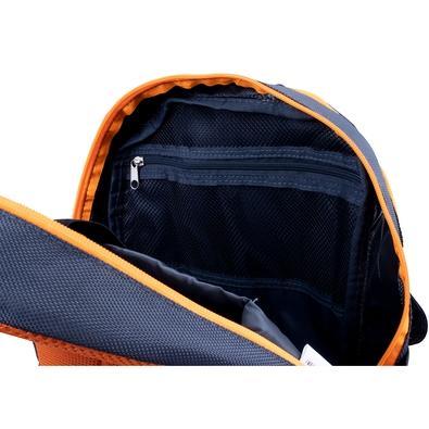 Mochila OEX Backpack Steel, Cinza/Laranja - BK104