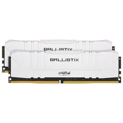 Memória Crucial Ballistix Sport LT, 32GB (2X16), 2666MHz, DDR4, CL16, Branca - BL2K16G26C16U4W