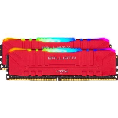 Memória Ram 16gb Kit(2x8gb) Ddr4 3600mhz Bl2k8g36c16u4rl Crucial