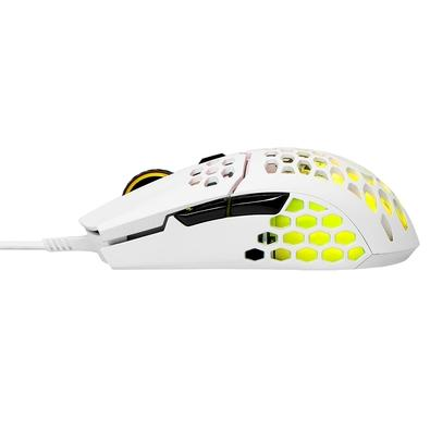 Mouse Gamer Cooler Master MM711, RGB, 6 Botões, 16000DPI, Branco Matte - MM-711-WWOL1