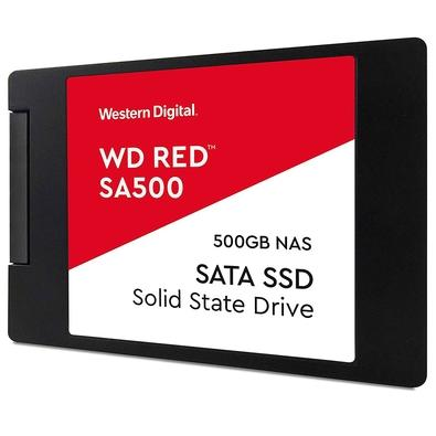 SSD WD Red SA500 NAS, 2TB, SATA, Leituras: 560Mb/s e Gravações: 530Mb/s - WDS200T1R0A