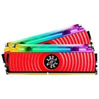 Memória XPG Spectrix D80, RGB, 16GB (2x8GB), 4133MHz, DDR4, CL19, Vermelho - AX4U413338G19J-DR80