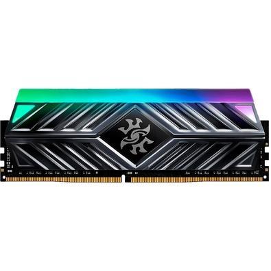 Memória XPG Spectrix D41, RGB, 8GB, 3200MHz, DDR4, CL16, Cinza - AX4U320038G16-ST41