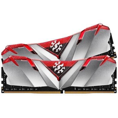 Memória XPG Gammix D30, 16GB (2x8GB), 2666MHz, DDR4, CL16, Vermelho - AX4U266638G16-DR30