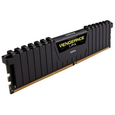 Memória Corsair Vengeance LPX 16GB (2x8GB)2400Mhz DDR4 C16 Black - CMK16GX4M2A2400C16