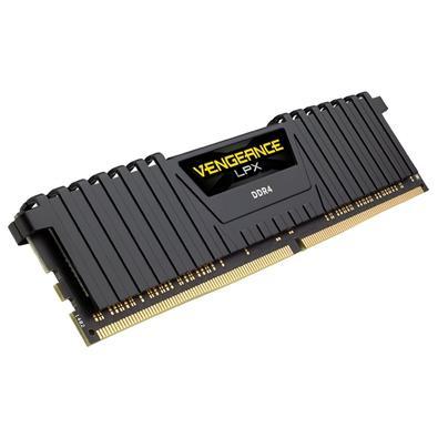Memória Corsair Vengeance LPX 32GB (4x8GB) 2666Mhz DDR4 C16 Black - CMK32GX4M4A2666C16