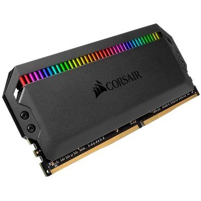 Memória Corsair Dominator RGB 32GB (4x8GB) 4000MHz  DDR4  C19 Black - CMT32GX4M4K4000C19