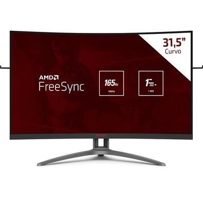 "Monitor 31,5"" Led AOC Full Hd - Ag323fcxe"
