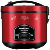 Panela Elétrica Mondial Pratic 10i, 220V, Vermelho/Inox - PE-46-10X