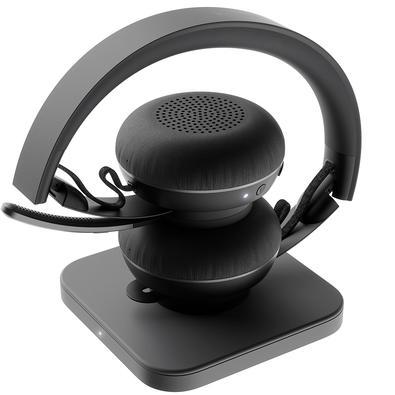 Headset Sem Fio Logitech Zone Estéreo Bluetooth - 981-000797