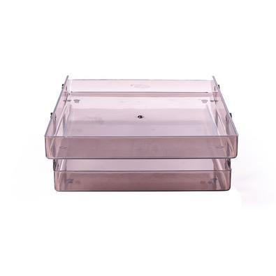 Caixa de Correspondência Dupla Menno, Fumê  - 2755-2385