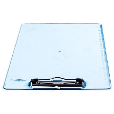 Prancheta Menno Ofício 2, Azul Transparente - 15385-5325