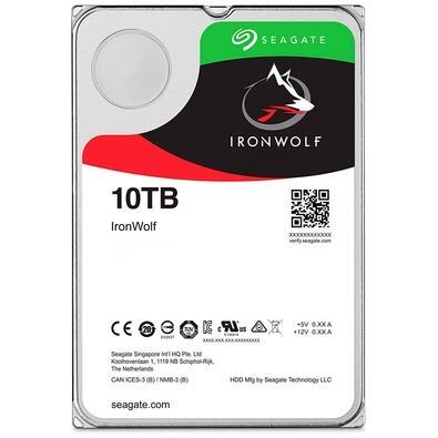 HD Seagate IronWolf, 10TB, SATA - ST10000VN0008