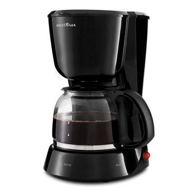 Cafeteira Elétrica Britânia BCF18, 18 Xícaras, 550W, 110V, Preta - 63901104