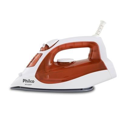 Ferro de Passar a Vapor Philco PFV300V, 1800W, 220V, Vermelho/Branco - 53602019