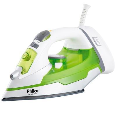 Ferro de Passar a Vapor Philco PFV2000 Perfect Pass, 1200W, 110V, Verde/Branco - 53601028