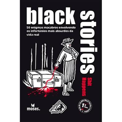 Jogo Black Stories Shit Happens - BLK102