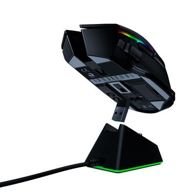 Mouse Sem Fio Gamer Razer Basilisk Ultimate, Chroma, com Dock, Optical Switch, 11 Botões, 20000DPI - RZ01-03170100-R3U1