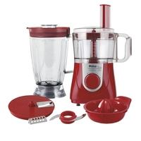 Multiprocessador Philco All In One + Citrus, 800W, 110V, Vermelho - 53301041